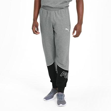 Modern Sports Men's Sweatpants, Medium Gray Heather, small