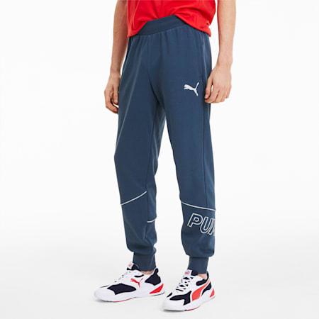 Modern Sports Men's Sweatpants, Dark Denim, small