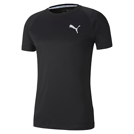 Slim Fit dryCELL Men's Training T-Shirt, Puma Black, small-IND