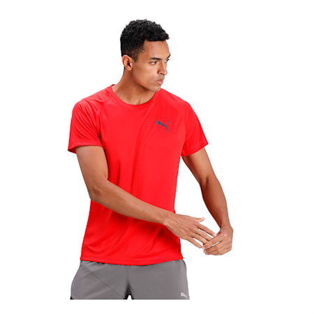 Slim Fit dryCELL Men's Training T-Shirt, High Risk Red, small-IND