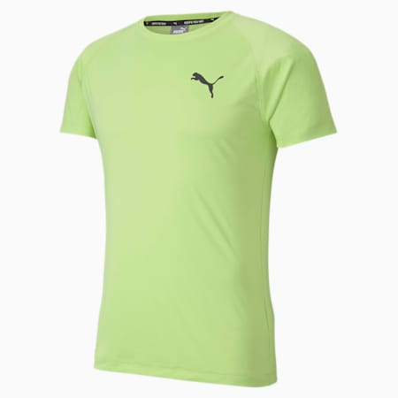 Slim Fit dryCELL Men's Training T-Shirt, Sharp Green, small-IND