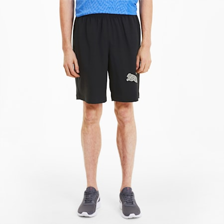 RTG Herren Gewebte Shorts, Puma Black, small