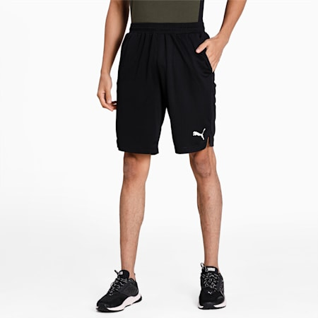 Knitted Regular Fit dryCELL Men's Shorts, Puma Black, small-IND