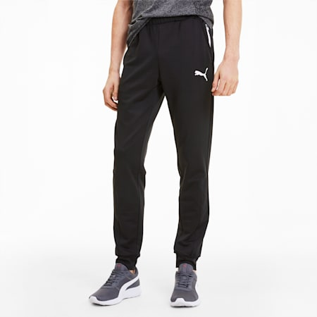 RTG Knitted Men's Pants, Puma Black, small-SEA