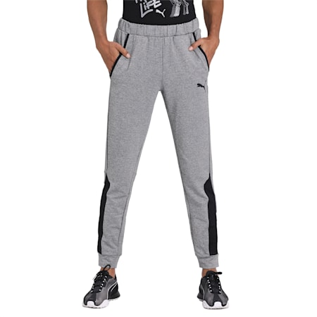 RTG Knit dryCELL Pants, Medium Gray Heather, small-IND