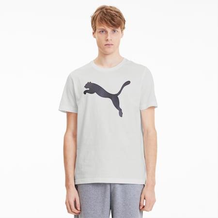 Active Graphic Men's Tee, Puma White-Cat, small-SEA