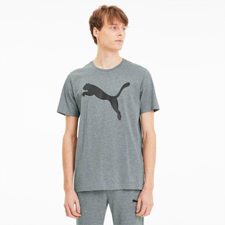 Active Graphic Men's Tee, Medium Gray Heather-Cat, small-SEA