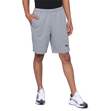 ACTIVE Graphic Shorts, Medium Gray Heather, small-IND