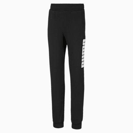 Rebel Sweat Pants, Puma Black, small-IND