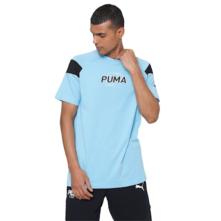 Modern Sports Advanced Men's T-Shirt, Ethereal Blue, small-IND