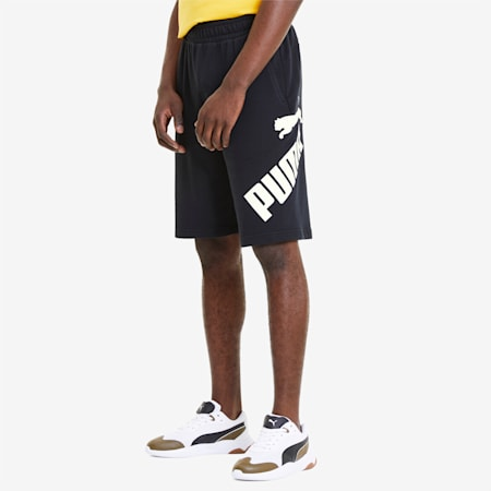 Big Logo Men's Shorts, Puma Black, small