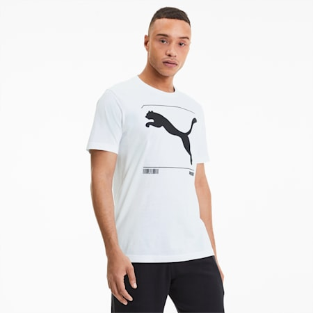 Nu-tility Graphic T-Shirt, Puma White, small-IND