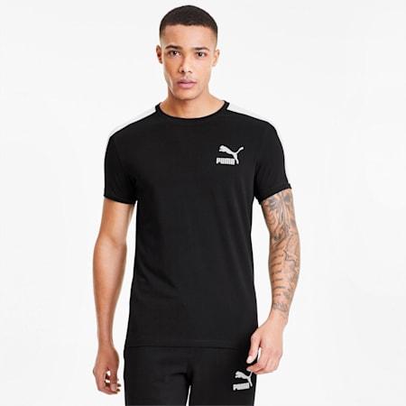 T-Shirt Iconic T7 Slim pour homme, Puma Black, small