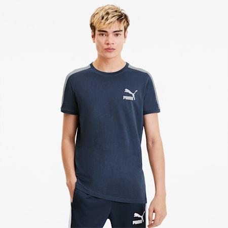 T-Shirt Iconic T7 Slim pour homme, Dark Denim, small