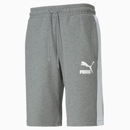 Shorts para hombre Iconic T7, Medium Gray Heather, small