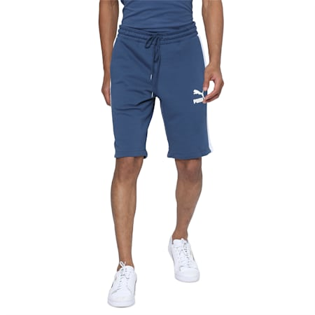 Iconic T7 Shorts, Dark Denim, small-IND