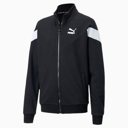 Iconic MCS Boys' Track Jacket, Puma Black, small