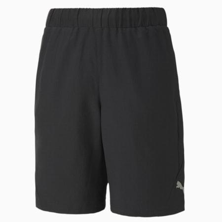 Active Sports Woven Boy's Shorts, Puma Black, small-GBR