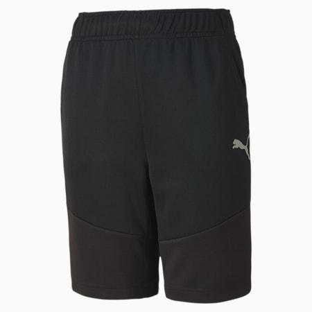 Shorts Active in poliestere da ragazzo, Puma Black, small