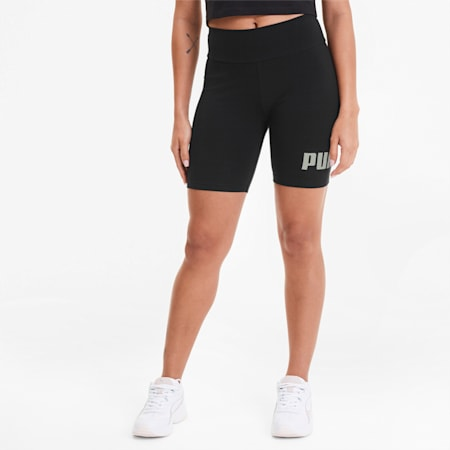 "Essentials+ 7"" Women's Short Tights, Puma Black, small"