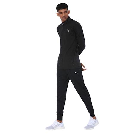 PUMA x one8 Virat Kohli Active Men's Full Zip Sweat Jacket, Puma Black, small-IND