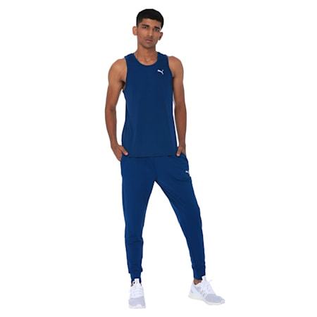 PUMA x one8 Men's Active Pants, Gibraltar Sea, small-IND