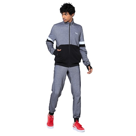 Stylized Sweat Jacket, Puma Black, small-IND
