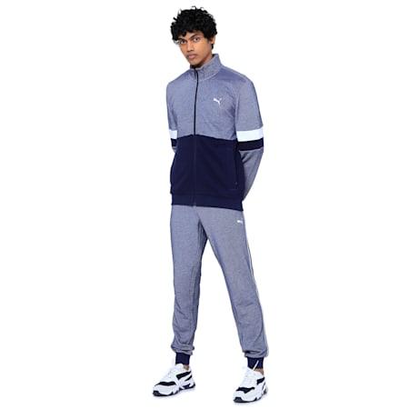 Stylized Sweat Jacket, Peacoat, small-IND