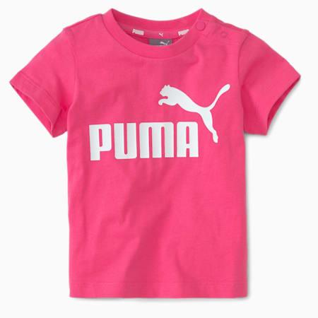 No.1 Logo Babies' Tee, Glowing Pink, small-SEA