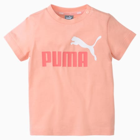 No.1 Logo Babies' Tee, Apricot Blush, small