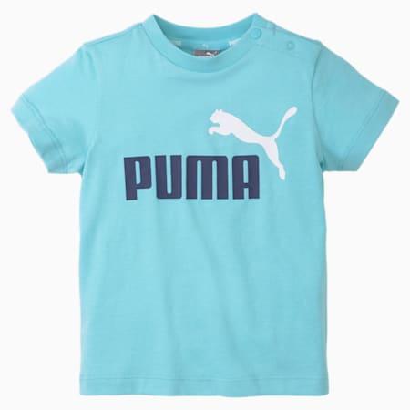 No.1 Logo Babies T-Shirt, Angel Blue, small