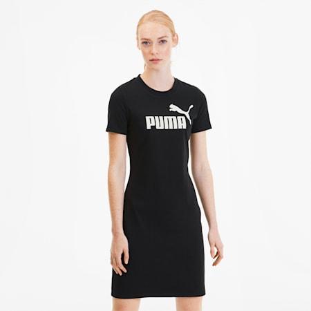 Sukienka Essentials+ Fitted, Puma Black, small