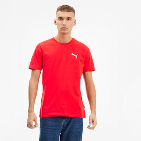 3D PUMA Graphic Men's Tee, High Risk Red, small-SEA