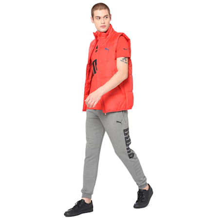 Men's Essential Padded Gilet, High Risk Red, small-IND