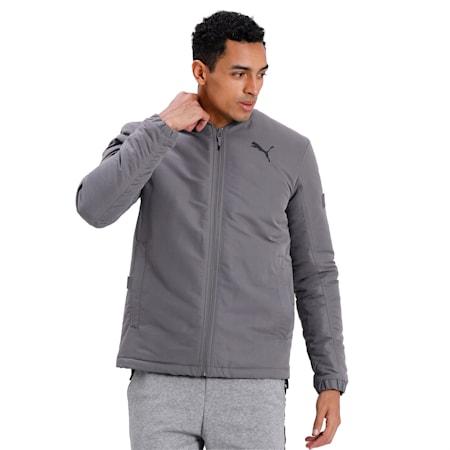 Style Men's Bomber Jacket, CASTLEROCK, small-IND