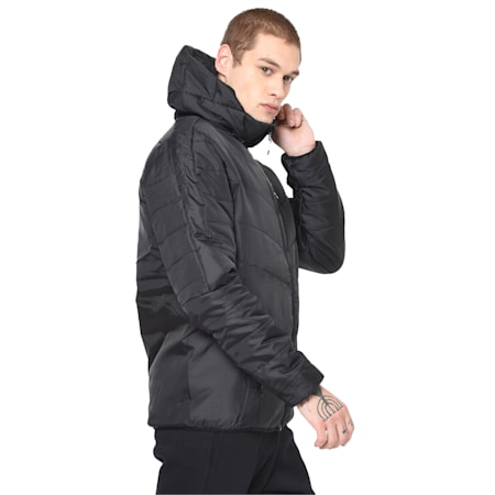 Men's warmCELL Padded Jacket, Puma Black, small-IND