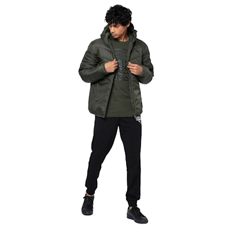 Men's warmCELL Padded Jacket, Forest Night, small-IND