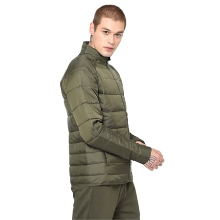 warmCELL Ultralight Men's Jacket, Forest Night, small-IND