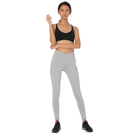 Active Women's Leggings, Light Gray Heather, small-IND