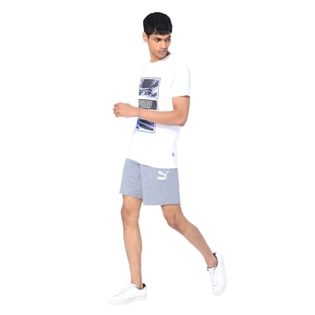 Light Motion Photo Men's Tee, Puma White, small-IND