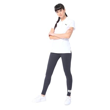 Essentials Women's Polo, Puma White, small-IND