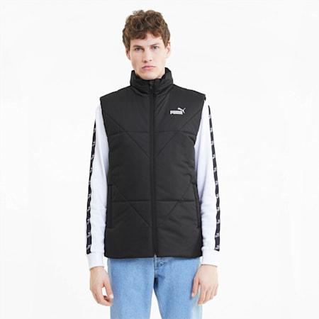 Essentials Men's Padded Vest, Puma Black, small