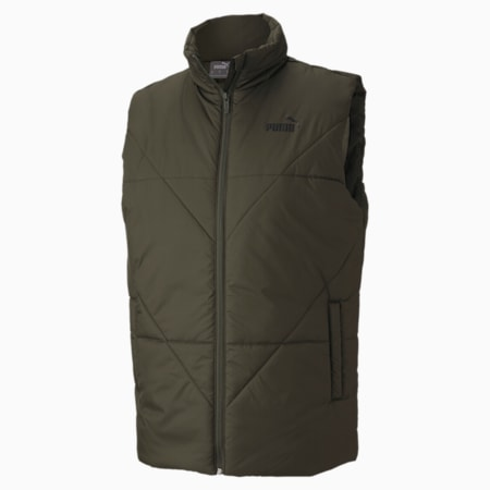 Essentials Padded Men's Gilet, Forest Night, small-IND