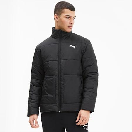Essentials+ Herren Gefütterte Jacke, Puma Black, small