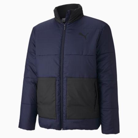 ESS+ Padded Men's Jacket, Peacoat, small