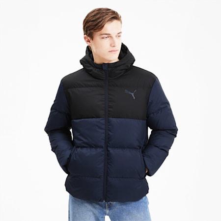 ESS+ Down Men's Jacket, Peacoat, small