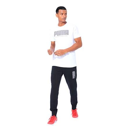 Athletics Men's Tee, Puma White, small-IND