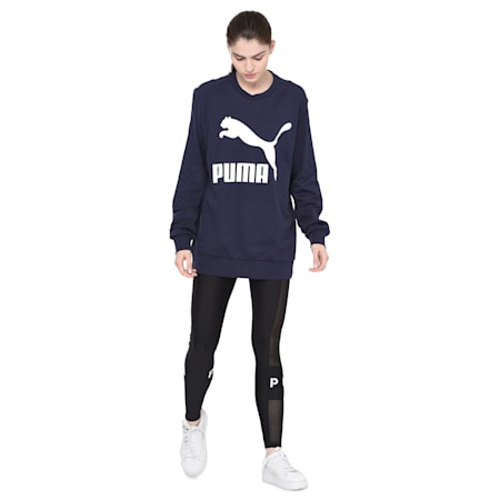 Graphic Logo Women's Tee, Peacoat, small-IND