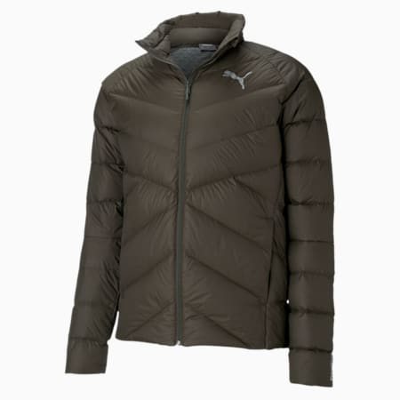 PWRWarm packLITE Men's Down Jacket, Forest Night, small