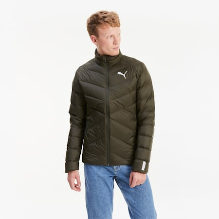 PWRWarm packLITE Herren Daunenjacke, Forest Night, small